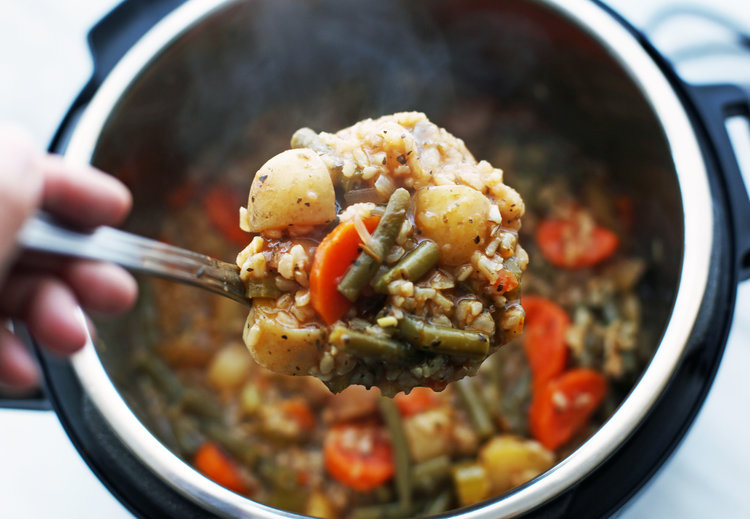 Poyke Stew Vegan