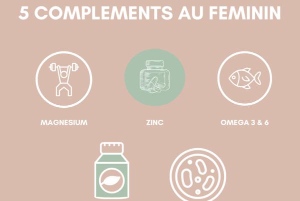 5 compléments alimentaires au féminin